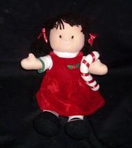 "14"" Vintage Lillian Vernon Christmas Doll W/ Candy Cane Stuffed Animal Plush Toy - $32.38"
