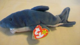 Crunch the Shark Ty Beanie Baby DOB January 13, 1996 Style 4130 - $6.92
