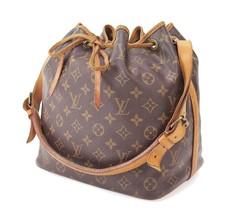 Authentic LOUIS VUITTON Petit Noe Monogram Shoulder Tote Bag Purse #30138 - $359.00