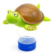 "WWD Chlorine Floater, Turtle Floating Pool Chlorine Dispenser Fits 3"" Ch... - $15.79"