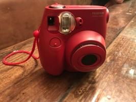 Fujifilm Instax Mini 7s Light Red Camera Bonus Film Pack Instant Camera - $48.51