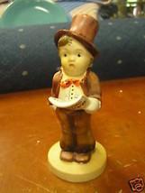 Great Vintage Boy Carolier Figurine.............SALE-----FREE Postage Usa - $11.88