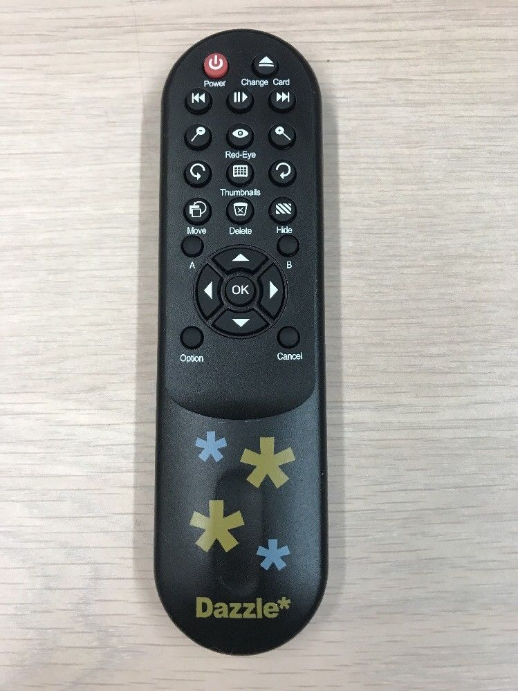 Dazzle Remote Control OEM for TV Photo  Show DM-21300 Tested And Cleaned    (O8)
