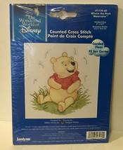 Janlynn Winnie the Pooh Cross Stitch Kit - $8.59