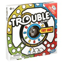 NEW SEALED Hasbro Pop-a-Matic Trouble Board Game Walmart Exclusive - $14.89