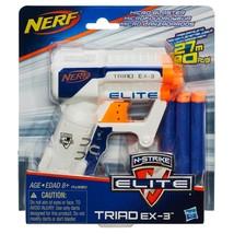 NERF N-Strike Elite Triad EX 3 Blaster  - $11.83