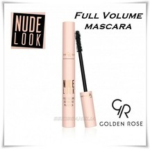 NEW Golden Rose Nude Look Full Volume Definitive Mascara Black Free Ship... - $9.89