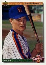 Jeremy Burnitz (100 Count) - 1992 Upper Deck #65 Mint Rookies - $24.95