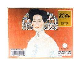 PIATNIK Double Deck Playing Cards Klimt Fritza 2501 - $17.00
