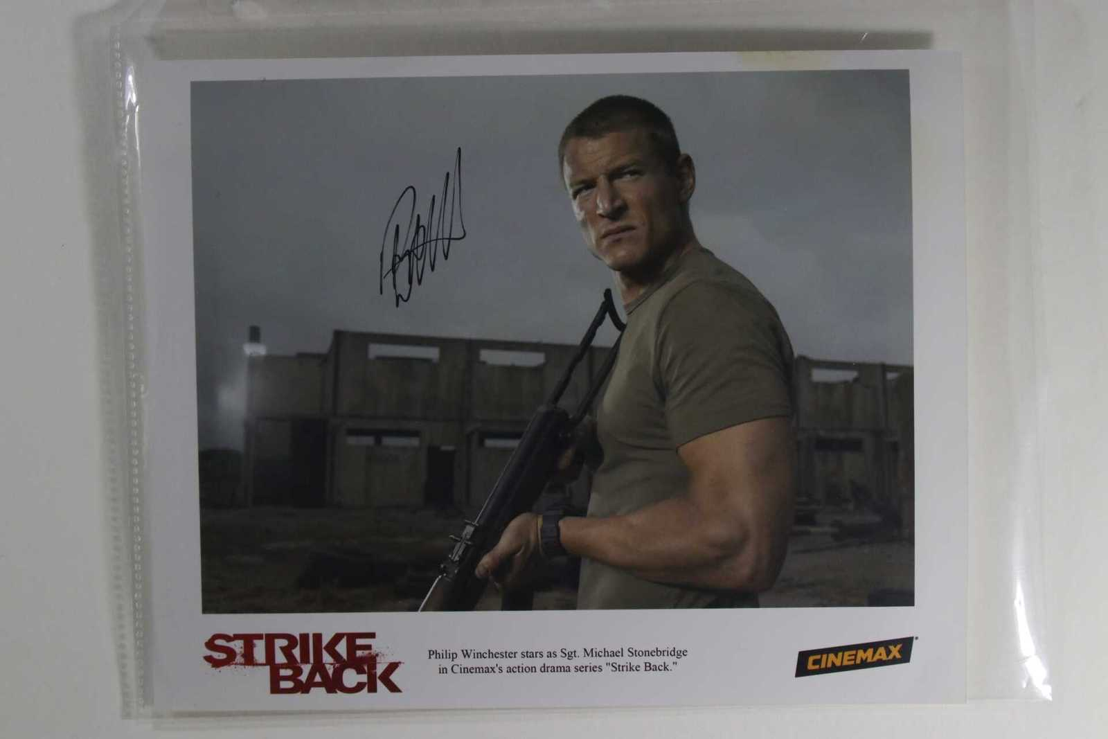 "Primary image for Philip Winchester Signed Autographed ""Strike Back"" Glossy 8x10 Photo"