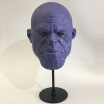 Thanos Infinity War Purple Face Mask Version & Gauntlet Glove Cosplay Props - £26.39 GBP+