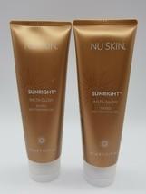 2X Nu Skin Sunright INSTA GLOW Face Body Self Tanning Streakless Gel Lotion - $47.99