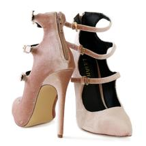 pixie-7 nude stiletto pump - $29.99