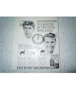 Vintage Fitch Dandruff Shampoo Print Magazine Advertisement 1960 - $3.99