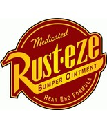 "Rust-Eze Car Bumper Sticker 5"" x 5"" - $4.88"