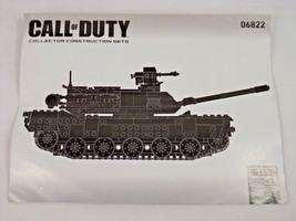 MEGA BLOKS COLLECTOR SERIES CALL OF DUTY 06822 INSTRUCTIONS ONLY - $9.99