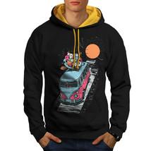 Party Van Sweatshirt Hoody Cool Fantasy Men Contrast Hoodie - $23.99+