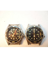 VINTAGE 1980's CASIO MMA 343 200W 100 METER DIVER ANA DIGITAL WATCHES TO... - $188.67