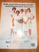 Vintage Clorox Bleach Ladies Bowling Team Print... - $6.99