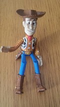 Woody Disney TOY STORY sitting 3.5'' PVC Figure Figurine misses stand  - $9.29