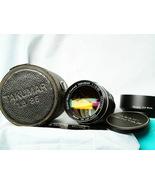 Pentax SMC Takumar 85mm f1.8 M42 Lens 43832 + Hood + Sky + Caps Cased -MINT-RARE - $600.00