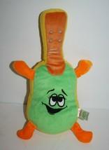 "Sugarloaf GUITAR 12"" Yellow Orange Green Plush Stuffed Soft Toy Sewn Face Arms - $19.32"