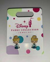 Disney Parks Princess Pierced Earrings Jewelry Girls Cinderella - $6.16