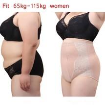 Plus Size Body Shaper Control Panties High Waist Trainer Pants Shapewear... - $12.00
