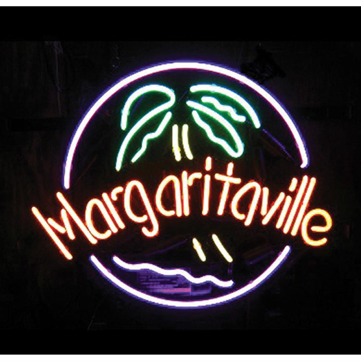 "New Margaritaville Beer Bar Neon Sign 24""x20"""