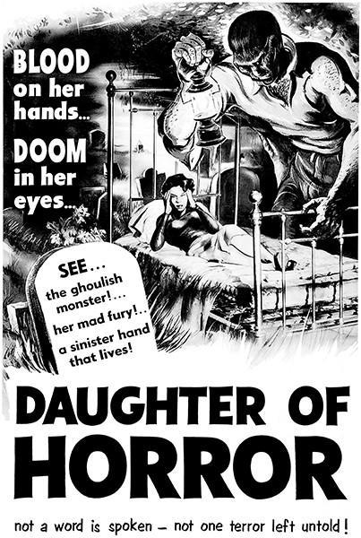 Primary image for Daughter Of Horror - 1955 - Movie Poster