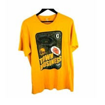 Oakland As golden state warriors NBA MLB promotional t-shirt yellow XL Cali - $9.49