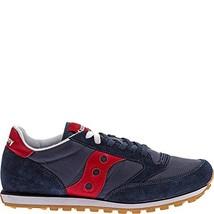Saucony Originals Men's Jazz Low Pro Classic Retro Sneaker, Navy/Red, 9 M US - $51.17