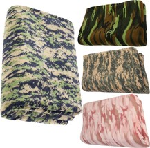 "Camouflage Polar Fleece Thick Warm Military Camping Throw Blanket - 60"" ... - €25,49 EUR"