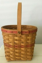 Longaberger Vintage 2001 One Handle Basket Dresden Ohio Usa - $17.81