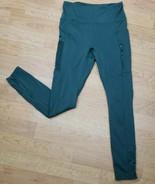 Fabletics Motion 365 Sz M Trinity High Waist Leggings Compression Green ... - $23.74