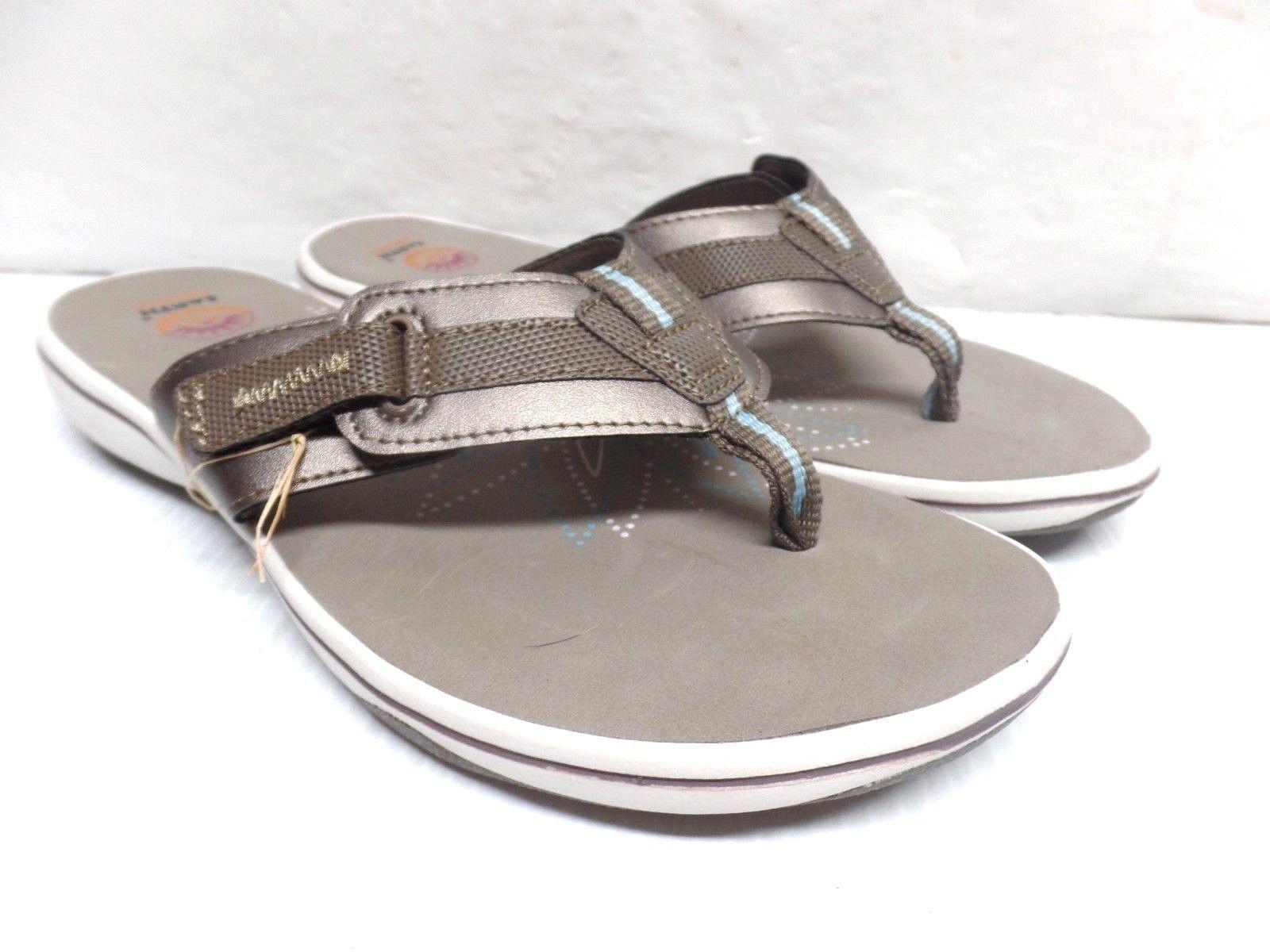 974284d5 Earth Spirit womens Khaki comfort flip flops and 39 similar items