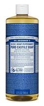 Dr. Bronner's - Pure-Castile Liquid Soap Peppermint, 32 ounce - Made wit... - $534,57 MXN
