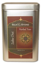 Silk & Stone Organic Zaika (Delicious) Chai (Caffeinated Spiced Chai in a Tin) 3 - $8.90