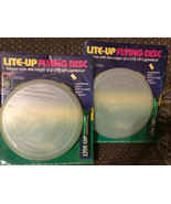 Lite-up  FLYING DISC VINTAGE Frisbee With Glow Stick New In Package (2) ... - $44.00