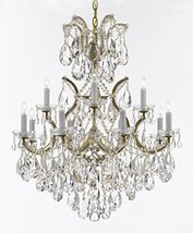Maria Theresa Chandelier Lights Fixture Pendant Ceiling Lamp Dressed w/Large, Lu - $536.28