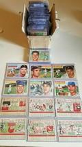 1956  (All White back )topps baseball cards lot(129) - $989.01