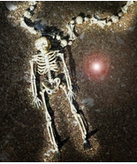 2 AVAILABLE Haunted FREE W SPOOKY CURIOSITIES WISHES SKELETON NECKLACE MAGICK  - Freebie