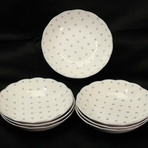 "Nikko American Country Dena Soup Bowls 6.75"" Lot of 7 - $61.73"