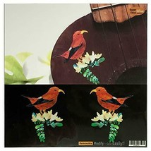 *Hawaiian Honey Creeper (Mitsudori) L & R set ukulele in perfect inlay s... - $24.27