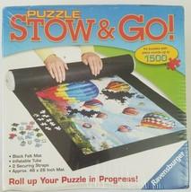 """Ravensburger Puzzle Stow & Go Mat Black Felt 46"""" x 26"""" 81461 - $17.45"""