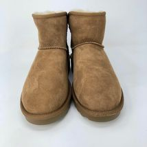 Brand New Kirkland Signature Ladies' Sheep Skin Shearling Short Boots Chestnut image 3