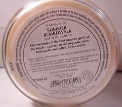 Bath & Body Works 3 wick 14.5 oz Candle Slatkin Summer Boardwalk image 4
