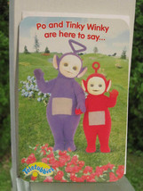 TELETUBBIES PO and TINKY WINKY GREETING CARD to COLOR by Carlton ITSY BI... - $4.27