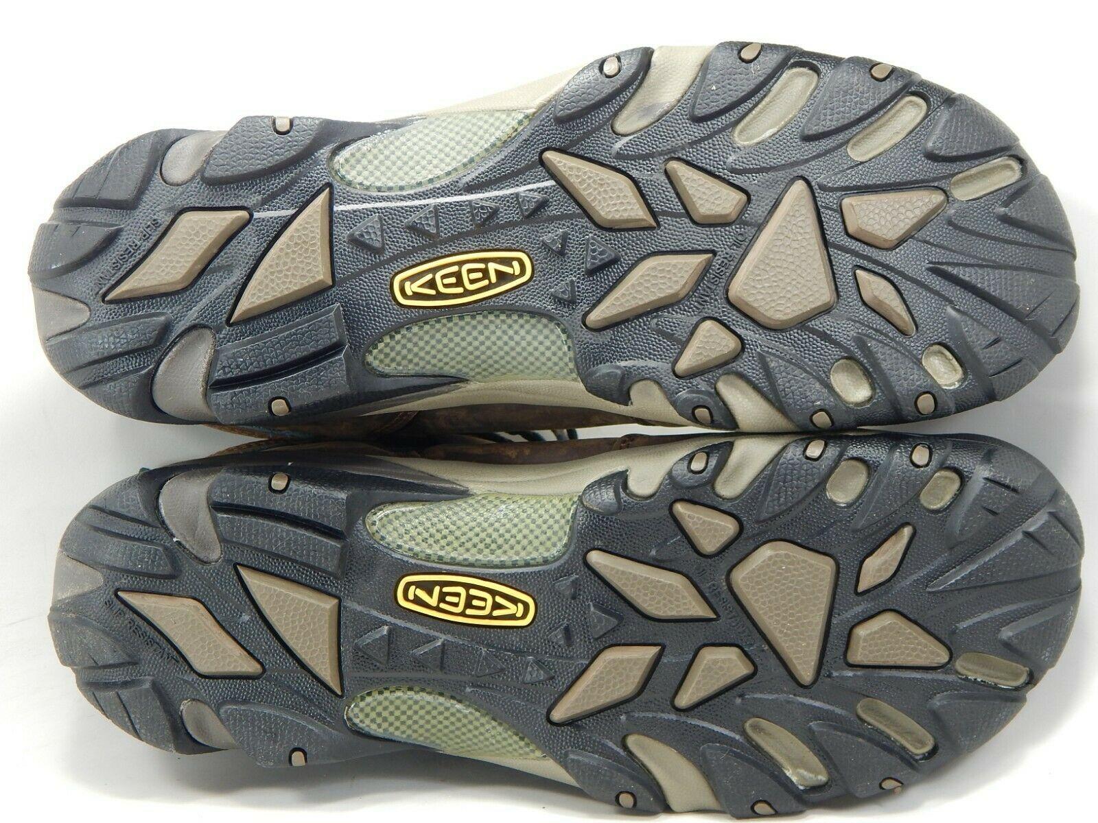 Keen Detroit Mid Size US 13 M (D) EU 47 Men's Steel Toe Work Boots Brown 1007004