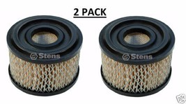 100-099 (2 PACK) Stens Air Filter Oregon 30-097 Rotary 2773  Napa 6079 7-02222 - $13.49